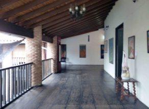 Corredor del piso superior de Casacoima, monumento histórico nacional. de Venezuela. Patrimonio cultural del estado Portuguesa.