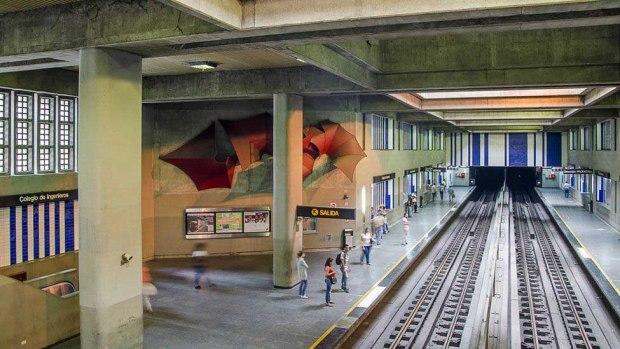 Cultura metro. Metro de Caracas, patrimonio cultural venezolano en peligro.