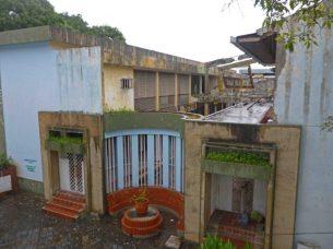 En este inmueble abandonado funcionaba los almacenes de los Reales Estancos de Tabaco. Monumento nacional de Venezuela en Guanare, estado Portuguesa.