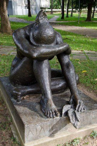 Homenaje a la Generación del 28, de Ernest Maragall, en Tierra de Nadie, UCV. Patrimonio de la Humanidad, Venezuela.