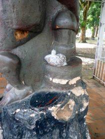Bien cultural del estado Barinas, utilizado como basurero, Venezuela.