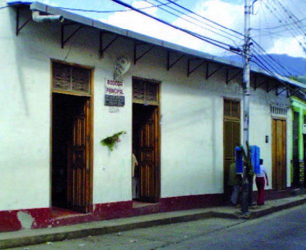 Pulpería o bodega La Principal, Boconó, estado Truijllo. Patrimonio cultural de Venezuela.