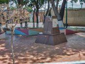 Robo del busto de bronce del general Rafael Urdaneta, que permaneció allí por 72 años. Patrimonio cultural de Venezuela en riesgo.