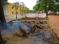 Constantes transgresiones de las autoridades contra el centro histórico de Barinas. Patrimonio cultural de Venezuela..