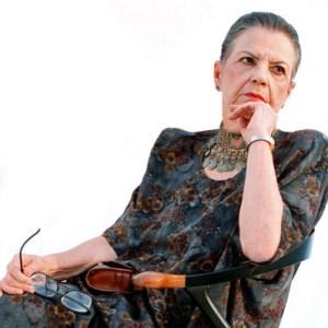 La poetisa Ana Enriqueta rumbo a sus 100 años. Foto cortesía.
