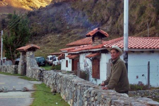 El pueblo de Gavidia, una postal turística de la serranía de Mérida. Patrimonio cultural de Venezuela.