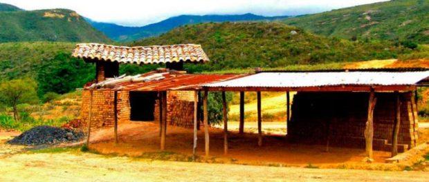 Fábrica de ladrillos en Lobatera. Patrimonio cultural del estado Táchira, Venezuela.