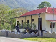 Fachada de La Casa de La Hacienda o Hacienda Boquerón, en Caripe, Monagas. Patrimonio histórico de Venezuela.