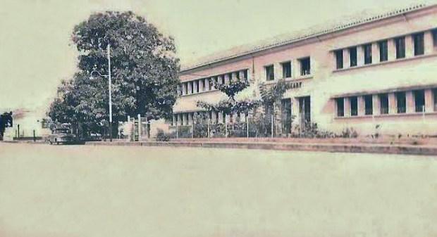 Liceo Oleary en la década de los 50. Patrimonio cultural de Venezuela en peligro.
