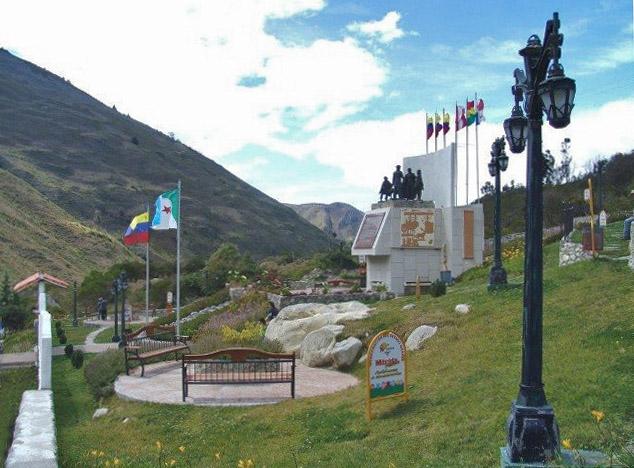 Monumento al perro Nevado. Patrimonio cultural del estado Mérida, Venezuela.