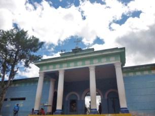 Cementerio municipal de Boconó, donde está la tumba de la familia Clavo. Patrimonio cultural de la ciudad de Boconó, estado Trujillo, Venezuela.