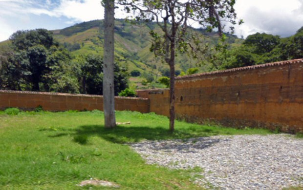 Familia de los Clavo, panteón en el cementerio de Boconó, Trujillo. Patrimonio cultural venezolano.