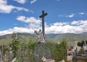 Vista del mausoleo de la familia Clavo Carrillo, en el cementerio municipal de Boconó.Patrimonio cultural de la ciudad de Boconó, estado Trujillo, Venezuela.