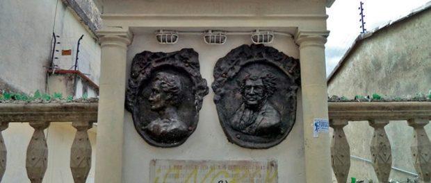 Monumento a Bolívar y Humboldt, patrimonio cultural e histórico de Mérida, estado Mérida, Venezuela.