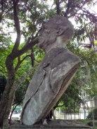 Monumento al Rector Magnífico, Eloy Paredes. Patrimonio cultural de Mérida, Venezuela.