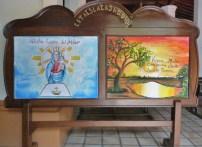 Imagen y festividad de la Virgen del Pilar, bienes de interés cultural de Barinas, Venezuela.