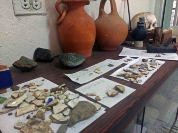 Restos arqueológicos en la UCV Escuela de Antropología