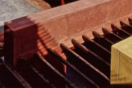 Techos de la sede de la Fundación Bigott. Foto Paoliniarquitectosdotcom, 2001.