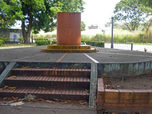 Ladrones del bronce roban busto del paseo Los Trujillanos. Patrimonio cultural de Barinas en riesgo.
