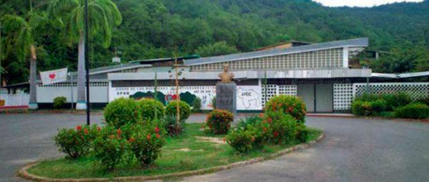 Sede de la Ciudad de Los Muchachos - Fe y Alegría. Patrimonio cultural del municipio Ambrosio Plaza, Miranda.