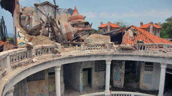 Hotel Miramar de Macuto, estado Vargas. Monumento histórico nacional de Venezuela.