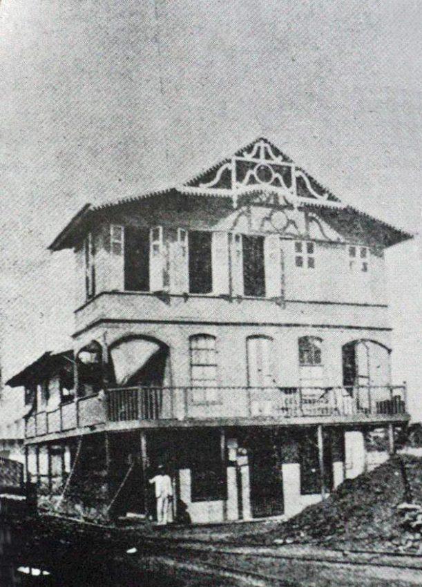Ferrocarril de Carenero, ruinas. Patrimonio cultural de Brión, estado Miranda. Venezuela.