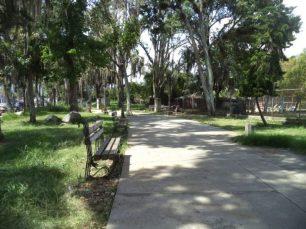 Parque Los Escritores Merideños. Patrimonio cultural de Mérida.