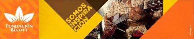 Logotipo y cabecero de la web de la Fundación Bigott. Patrimonio cultural de Miranda, Venezuela.