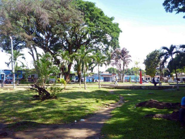 Plaza Sucre de Barinitas. Patrimonio cultural del estado Barinas. Venezuela.