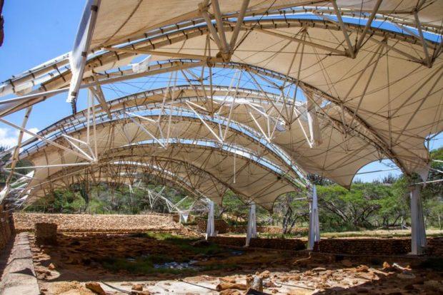 Museo Taima Taima. Parque arqueológico Taima Taima, patrimonio del estado Falcón, Venezuela.