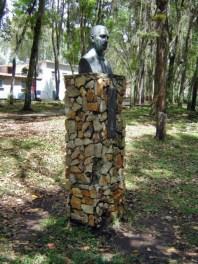 Monumento a Tulio Gonzalo Salas. El Rincón de Los Poetas, Mérida. Patrimonio cultural de Venezuela.