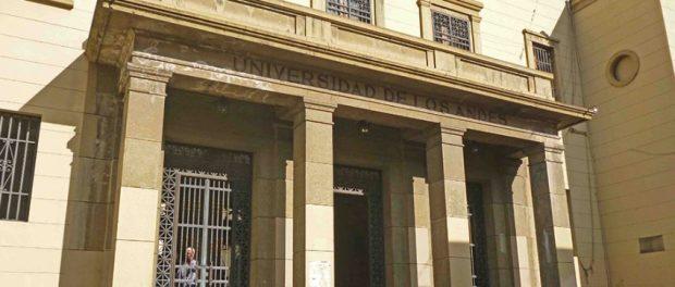 Edificio del rectorado de la ULA. Universidad de Los Andes, Mérida. Patrimonio artístico y arquitectónico de Venezuela.