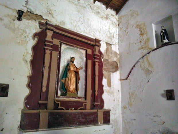 Iglesia de Parapara, municipio Juan Germán Roscio del estado Guárico. Monumento Nacional de Venezuela en peligro.