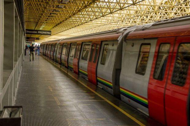 35 años del Metro de Caracas.