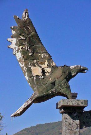 Monumento a las Cinco Águilas Blancas. Patrimonio cultural de Mérida, Venezuela.