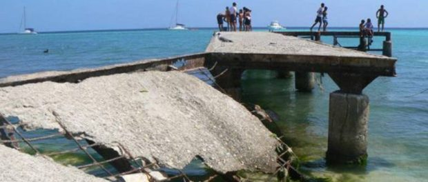 Muelle de Los Roques. Patrimonio cultural venezolano.