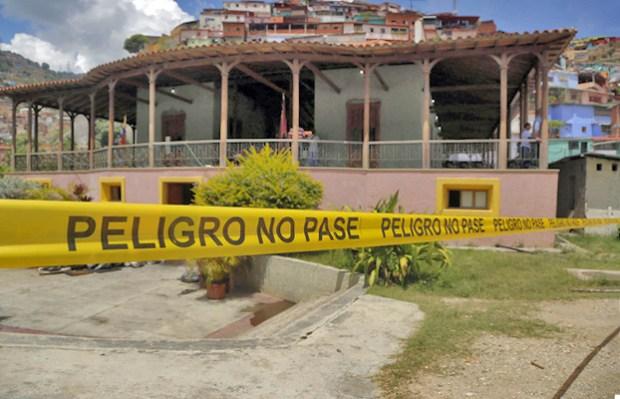 sa de campo de Guzmán Blanco. Patrimonio histórico de Venezuela en peligro.