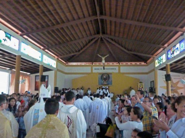 Virgen de El Real o Nuestra Señora del Rosario de El Real. Patrimonio cultural de Barinas, Venezuela.