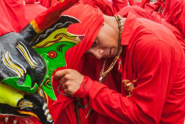 Diablo de Yare, patrimoniDiablo de Yare, tradición reconocida por la UNESCO como patrimonio inmaterial de la humanidad.