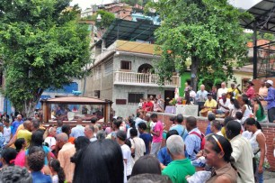 El Santo Cristo de la Salud. Tradición religiosa de La Guaira, Vargas. Patrimonio inmaterial de Venezuela.