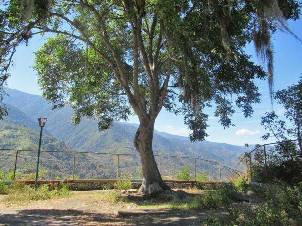 Parque El Rincón de los Poetas. Patrimonio cultural de Mérida, Venezuela.