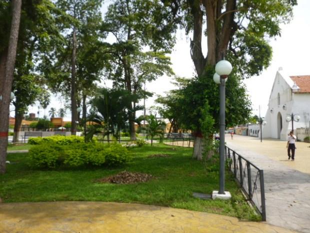 Plaza Bolívar de Obispos, estado Barinas. Patrimonio cultural de Venezuela.