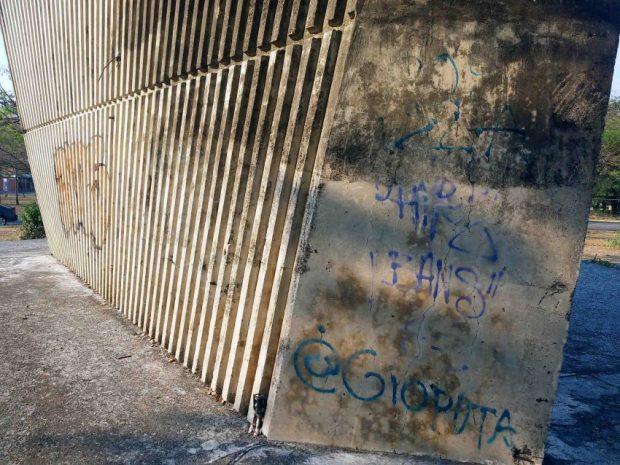 Monumento La Espiga. Patrimonio cultural de Portuguesa, Venezuela, en peligro.