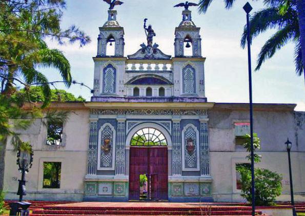 Fachada del antiguo hospital Vargas de San Cristóbal, estado Táchira. Patrimonio cultural de Venezuela.