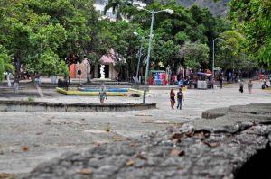 Paseo de Macuto, estado Vargas. Patrimonio cultural de Venezuela en peligro.
