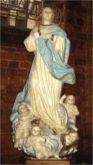 Ofrendas de mayo a la Virgen