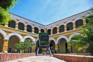 Museo Diocesano de Coro Lucas Guillermo Castillo. Casco histórico de Coro, patirmonio mundial Unesco. Venezuela.
