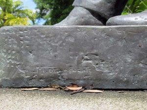 Monumento a Andrés Bello, Mérida. Patrimonio cultural de Venezuela.