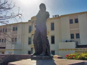 Monumento a Francisco de Miranda y plaza Miranda de Maracaibo. Patrimonio cultural de Venezuela en peligro.