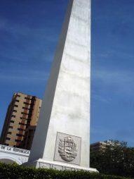 Plaza de La República. Patrimonio arquitectónico de Maracaibo, estado Zulia. Venezuela.